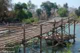 Fishermen's ramps and traps on the Mekong, Siphandon