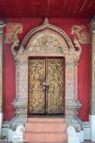 Temple door at Wat Phantong (14th-16th centuries)