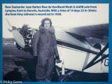 Commemorating pioneer woman aviator Jean Batten
