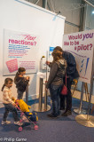 Interactive displays for family visitors