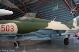 Soviet MiG-21PF fighter aircraft