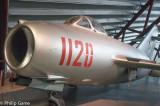 Soviet MiG-15bis fighter aircraft