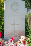 Grave of a 15-year-old soldier at Essex Farm Cemetery
