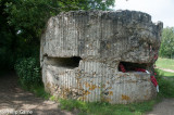 British bunker (pillbox) built atop a German one at Hill 60