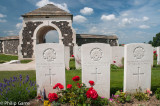 Three Australians 'Known Unto God' at Tyne Cot Military Cemetery