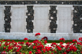 A wall at Tyne Cot continues, from the Menin Gate, the list of soldiers missing in action