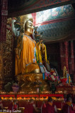 Buddha effigy at the 'Lama' Temple