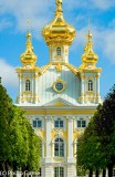 Grand Palace at Petrodvorets or Peterhof