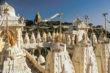 Jain temple complex on Shatrunjaya Hill, Palitana