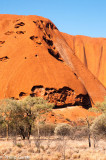 The southern face of Uluru