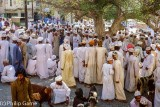 Market crowd, Nizwa