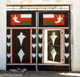 Omani household gates