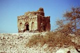 Ancient tomb of Bibi Maryam at Qalhat, Sur...