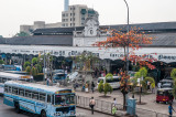 Fort station in Colombo, where all Sri Lankan train journeys begin