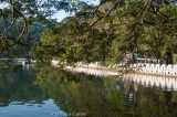 Man-made lake in the town centre, Kandy