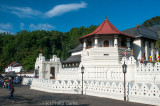 Temple of the Tooth at Kandy, believed to house a sacred relic of the Buddha