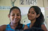 Teenage train passengers, Sri Lanka