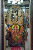 Shrine to the Hindu god Ganesha