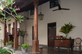Verandah of a luxury hotel, Galle Fort