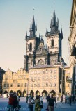 The Tyn Church in Prague