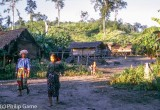 Village of the hilltribe Muser people, N. Thailand