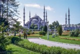 The Blue Mosque at Istanbul, 1974