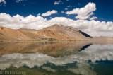 Tso Moriri,  a remote mountain lake