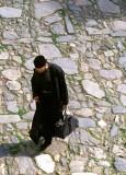 An Orthodox monk at Rila