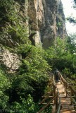 Hiking in Negovanka Canyon