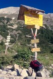Starting the ascent of Mt Vihren (2915m)