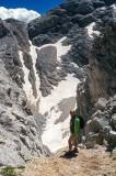 North Wall of Mt Vihren