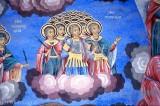 Frescoes at the Rila Monastery