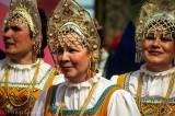 Folk dancers, Yaroslavl