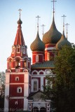 Church spires, Yaroslavl
