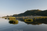 Loktak Lake, with floating islands of matted weed