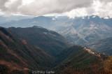 Climbing into the ranges above Dirang