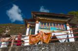 Gyangong Ani Gompa, a small Buddhist nunnery, outside Tawang