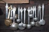 Cutlery rack at a roadside 'hotel'