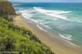 Bells Beach outside Torquay, a mecca for serious surfers