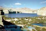 Band i Amir mineral lakes, Afghanistan