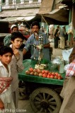 Pomegranate juice vendor, Peshawar, Pakistan