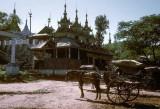Local transport, Kyaukpadaung, central Burma