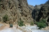 Entering the Musandam from Wadi Shamsi, outside Dibba
