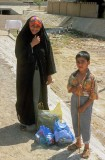 Omani  mother and son, Buraimi