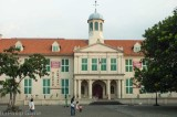 Dutch colonial town hall in the Kota district