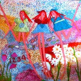 LOVE IS ALL THERE IS I: 48 X 48-SOLD