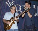 Dave Riley & Bob Corritore with Johnny Rapp -- June 2014