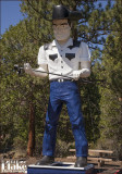 586386 Hat Creek Cowboy Muffler Man - Hat Creek CA 2014