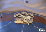 588033 Willits Cowboy Belt Buckle -- Willits CA 2014
