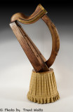 Clarsach Celtic Wire Harp.